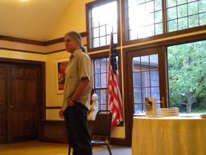 Poet Jerry Mirskin