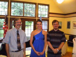 Sar Shalom Strong, Alicia Friedrichs and Kevin Namitz