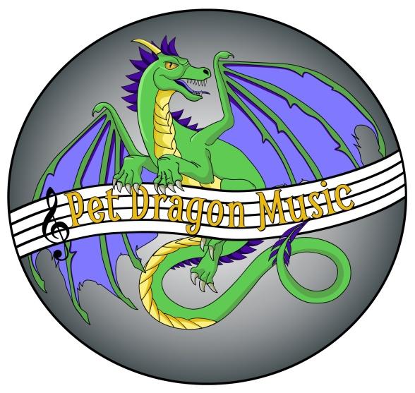 Pet Dragon Music Logo